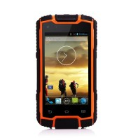 rugged waterproof cell phone 3g dual sim quad core smartphone waterproof rugged mobile phone DG1 PTT UHF/VHF