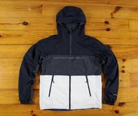 Light weight rain jacket with panels/Panels light weight rain jacket