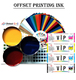 (1217) Korea Factory Sheet Fed Offset Printing Ink
