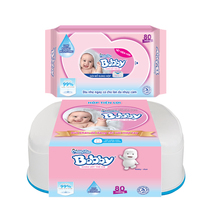 [THQ VIETNAM] MamyPoko Bobby Wet Wipes 80pcs