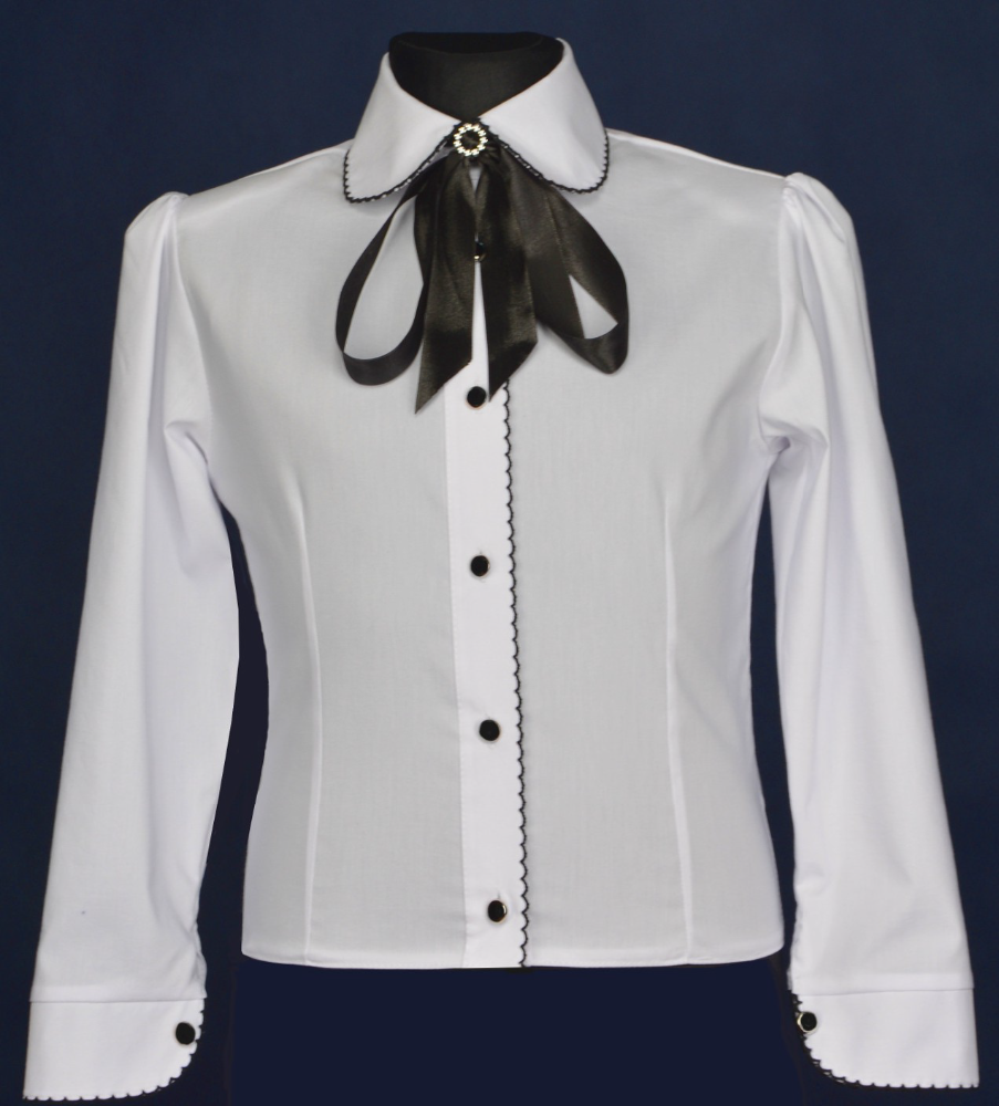 EWAX elegant shirt for girls Made in Poland