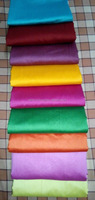 HIGH QUALITY PLAIN COTTON-SILK FABRIC