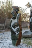 Loving Family (Large Sculpture Handmade Collectable Art)
