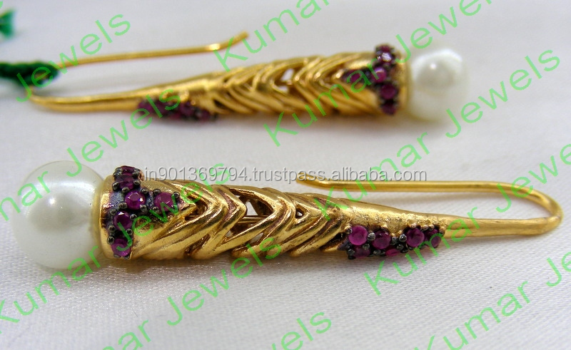 Slender Long Earrings