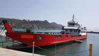 Small LCT type RoRo Passenger Ship for sale