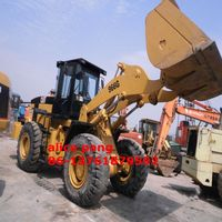 Used Caterpillar (966G) wheel front loader