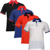 high quality 100% cotton plain sport polo shirt for men with custom logo