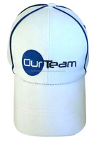 High Quality Our Team Baseball Cap Head Wear Custom Embroidery Print Logo 100% Cotton Polyester OEM 6 Panel Golf Hat