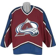 Colorado Avalanche ice hockey jersey