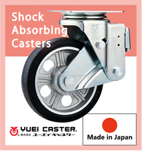 Durable casters wheel for automobile parts made in Japan