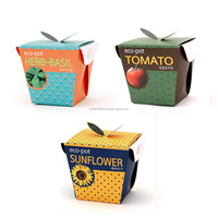"Eco friendly material all in one grow kit "" Eco-friendly paper pots"" by Joinflower Joinfolia"