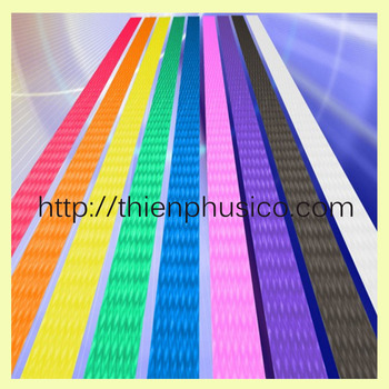 Grade 12mm colorful high quality strapping band