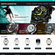 Online Shopping Magento website templates for Cosmetics