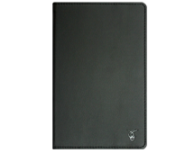 "VIVACASE PU leather universal case Classic for tablet PC 9"", black, rubber strap holders, stand function (VUC-CCL09-bl)"