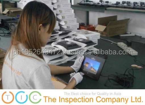 Tablet PC Pre-Shipment Inspection in China