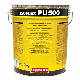 One component polyurethane liquid applied waterproof membrane for flat roofs and balconies