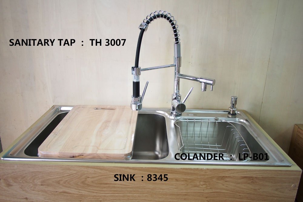 SINK AND SANITARY TAP
