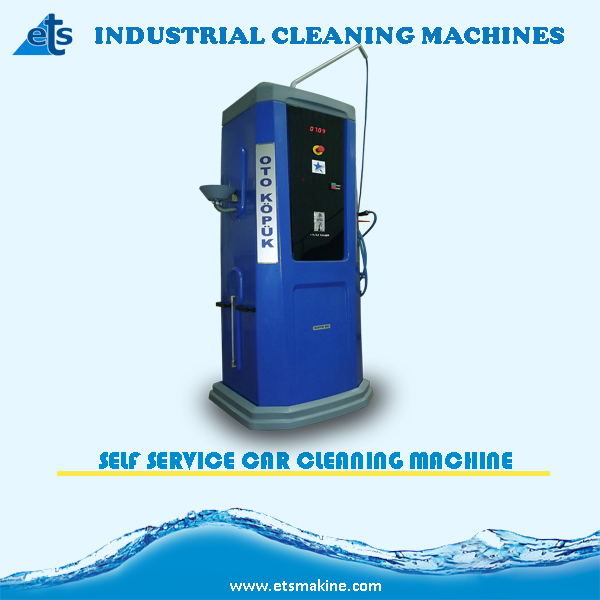 Token Operated Self Service Car Cleaning Machine