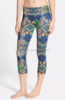 Custom sublimated Capri Pant
