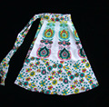HIPPIE Mandala INDIAN COTTON HAND BLOCK PRINT WRAP AROUND SARONG Blue SKIRT