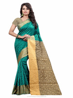South Indian Style Cotton Silk Saree For Women