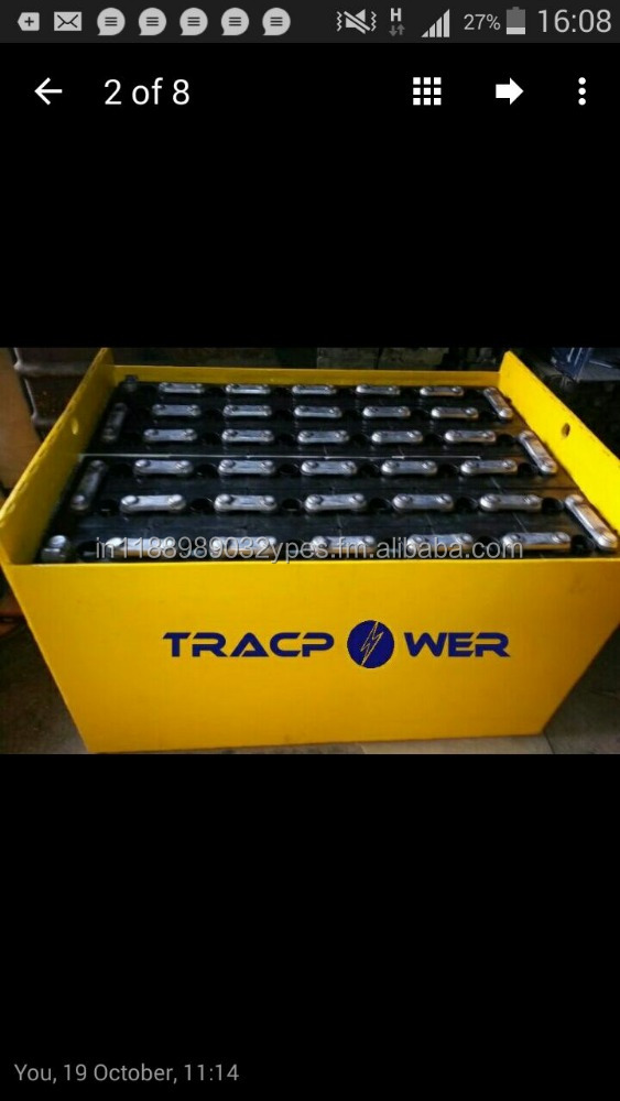 TRACTION FORKLIFT BATTERY 24 VOLT