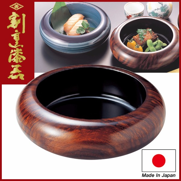 "Japanese Sushi Container for Restaurant use lacquerware / Sushi Serving Plate S.D.X ""5sun"" Black"