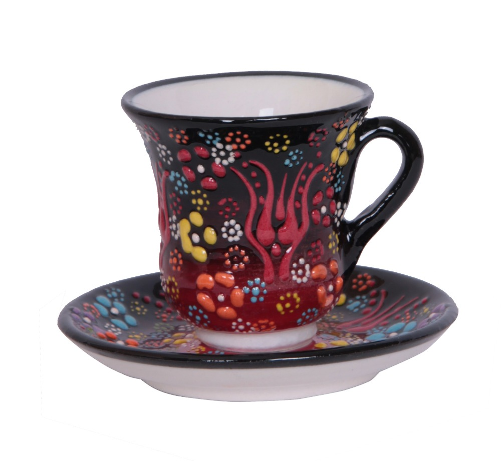 Turkish Handmade Ceramic Tea Cup