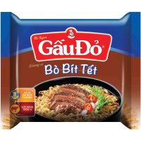 WHOLESALE BEEF STEAK FLAVOR 65 GR GAU DO INSTANT NOODLES