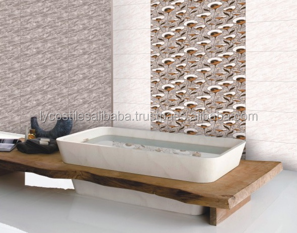 Latest Bathroom Design Indian wall Tiles 25x50cm exp-1mdrn1(02726780)