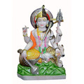 Harihara Combined form of Vishnu and Shiva Hindu Good Marble Statue