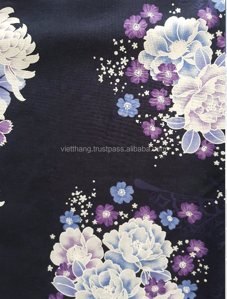 Cotton fabric flower 74*68/CD30*CD30/160