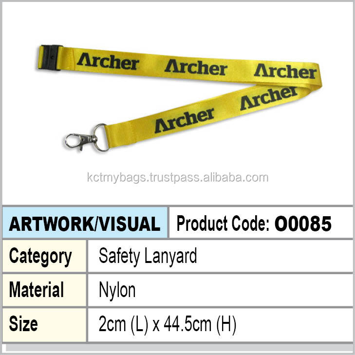 Nylon Safety lanyard
