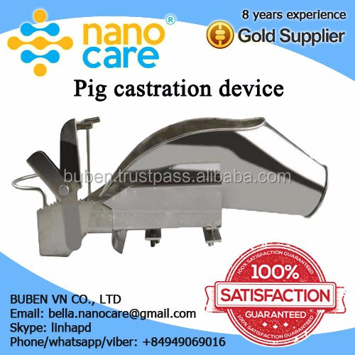 Manufacturer of High effection competitive price Bloodless Veterinary Pig Castration Equipment Medical