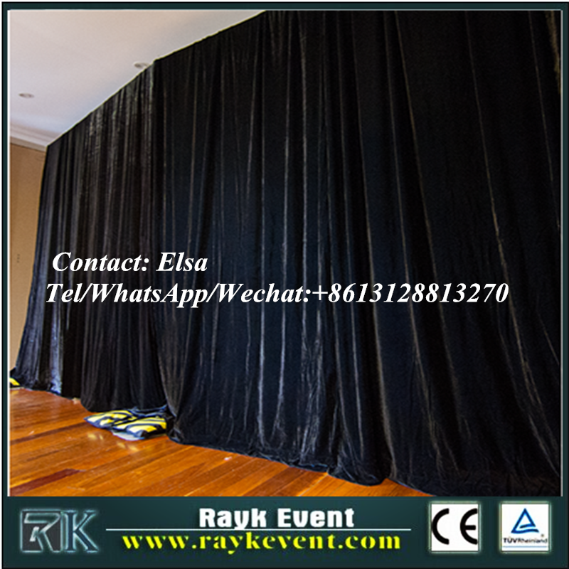 school pipe and drape kits/pipe and drapw with high quality from China factory