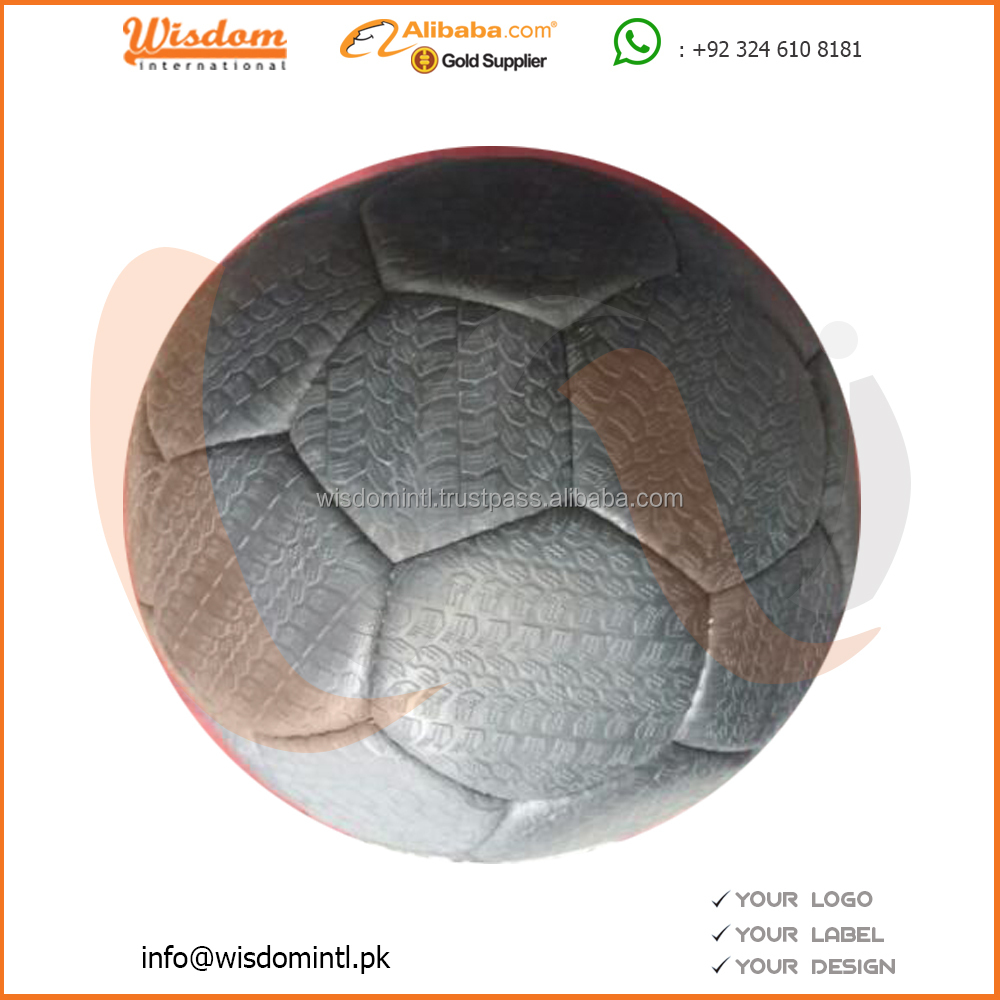 Tire soccer Ball/rubber material size 5/tyre soccer ball football/customized logo and design football