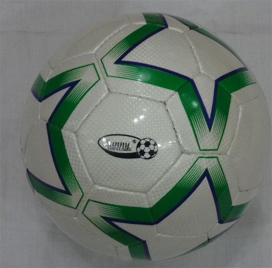 Size 5 , 32 panel Soccer Ball Hand Stitched