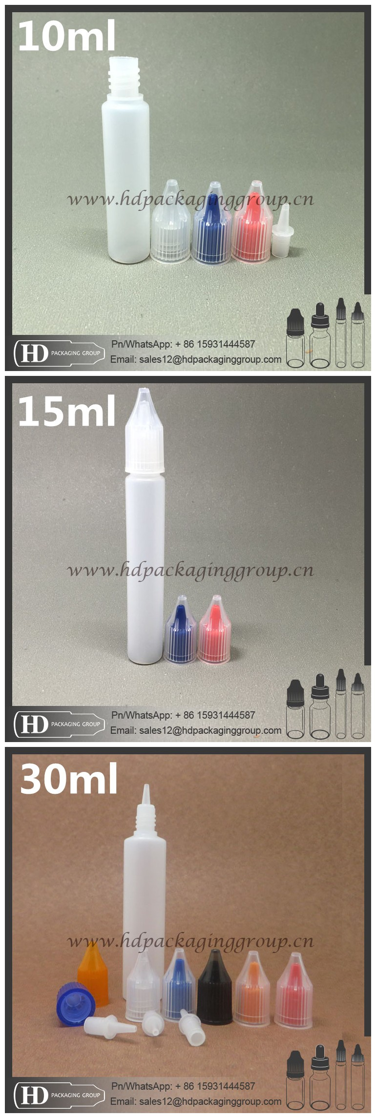 hot new product pe plastic 50ml pen shape bottle for e liquid with screw cap long thin dripper from shenzhen manufacturer