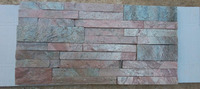 Natural Copper Slate Stone Ledger Panel/Mosaic Tile Size 6x24 inch