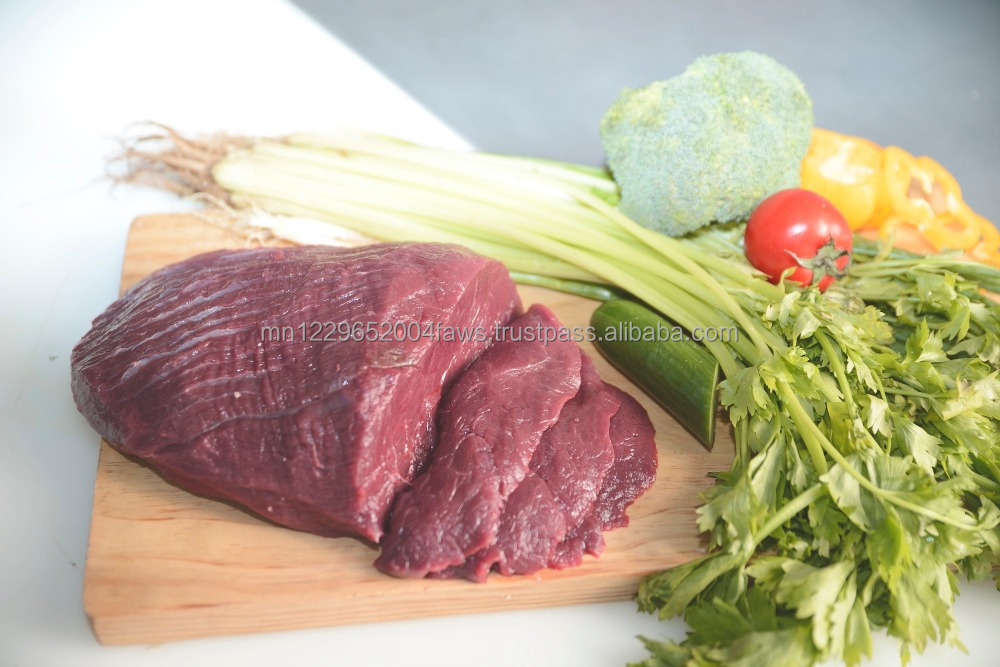 Mongolian Natural Fresh Boneless Beef