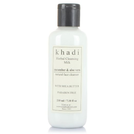 Khadi Cucumber and Aloevera Cleansing Milk Cream With Sheabutter