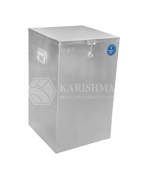 Aluminium Grain Storage box