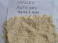 Mechanically Hulled, SORTEX Clean Hulled Sesame Seed