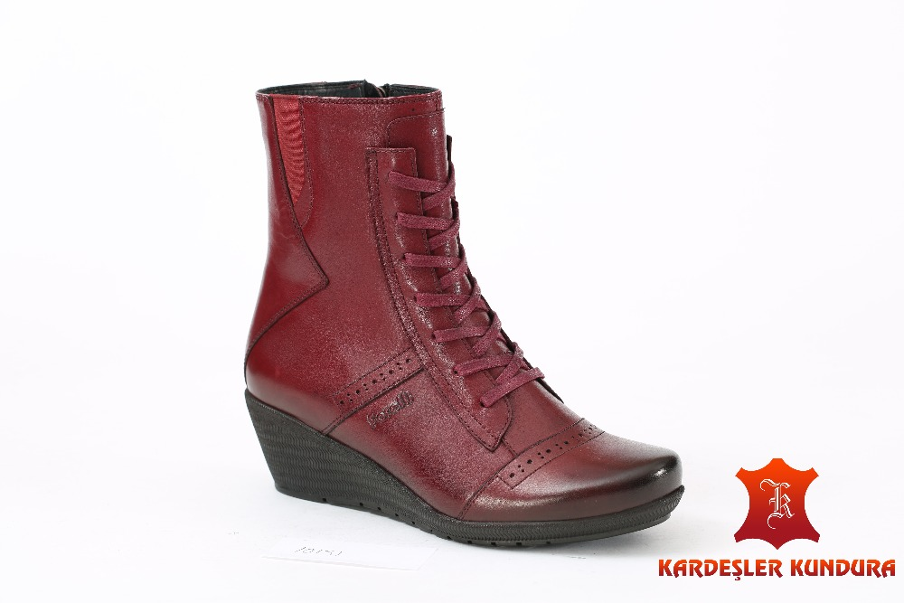 women's Sutumn Winter Anatomic Boots Genuine Leather 10151