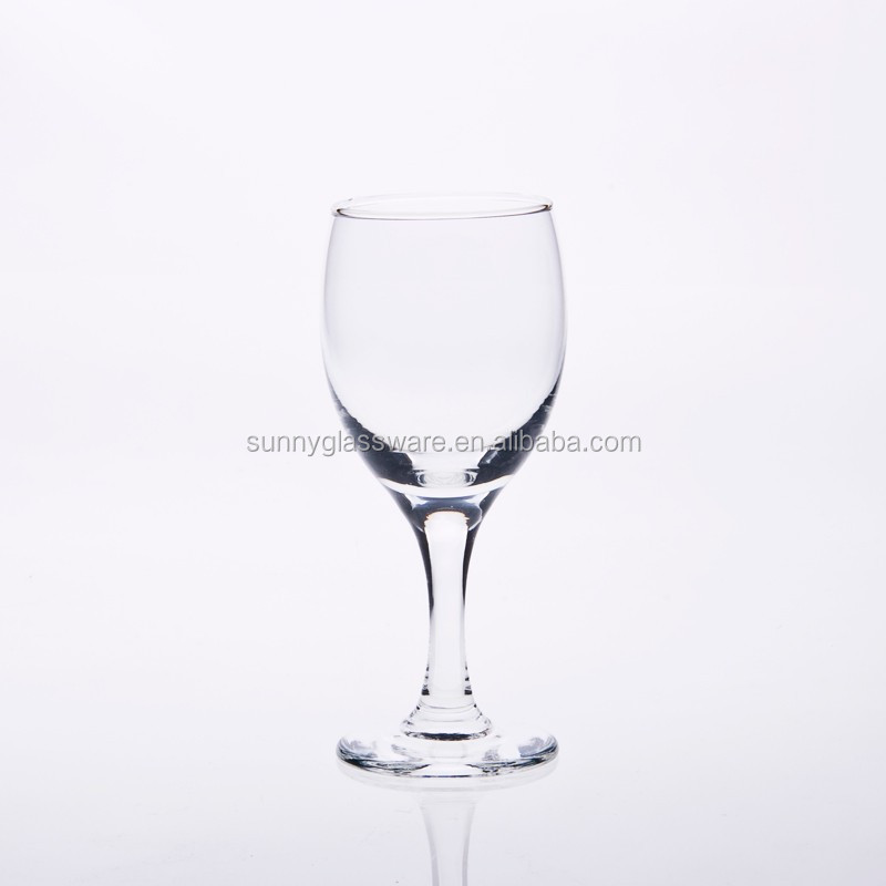 Drinking glass custom wine goblets
