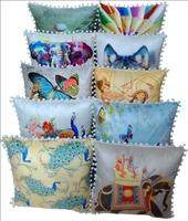 Indian Handmade Wholesale Digital Printed Cushion Covers