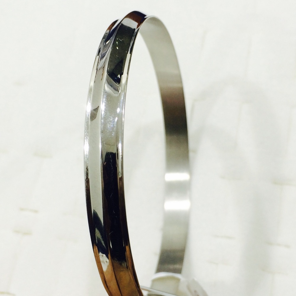 Platinum Bangle
