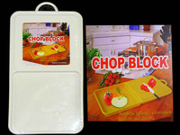 CUTTING BOARD 40X22CM PLASTIC, #13014