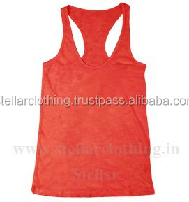 2015 Wholesale Plain Ladies Gym Singlets