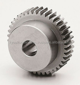 Ground spur gear Module 2.5 Chromium Molybdenum Steel Made in Japan KG STOCK GEARS